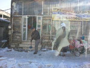 Jerusalem snow scene 2